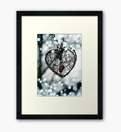 Secret Heart (Photograph) Framed Print