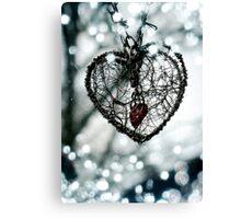 Secret Heart (Photograph) Canvas Print