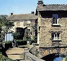Old Bridge House Ambleside Cumbria England by aapshop
