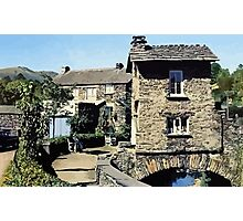 Old Bridge House Ambleside Cumbria England Photographic Print