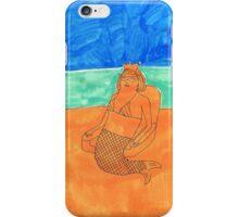 a mermaid iPhone Case/Skin