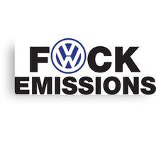 VW Diesel Humor Canvas Print