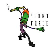 Blunt Force Photographic Print