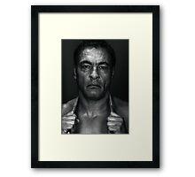 Rickson Gracie Framed Print