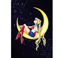 Pretty Guardian Sailor Moon Photographic Print