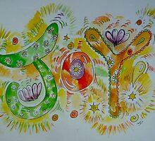 Joy! (Living word illustration) by Amanda Gazidis