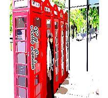 London Telephonebooth by cheeckymonkey