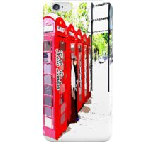 London Telephonebooth iPhone Case/Skin
