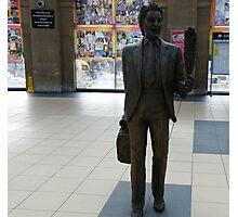 Ken Dodd Statue Photographic Print