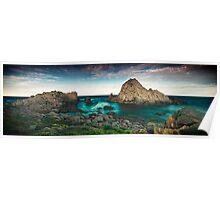 Sugarloaf Rock, WA Poster