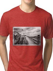 Castle Point, New Zealand Tri-blend T-Shirt