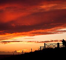 Red Sky at Night by Paul Richards