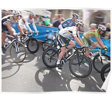 Mark Cavendish at Tour of Britain, London 2011 Poster