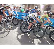 Mark Cavendish at Tour of Britain, London 2011 Photographic Print
