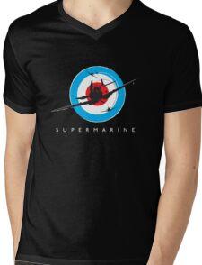 Supermarine Spitfire Design 001 Mens V-Neck T-Shirt