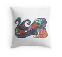 Child of Stars Throw Pillow