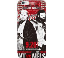 Mark Hunt Vs Roy Nelson Fight Night Japan UFC iPhone Case/Skin