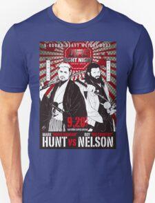 Mark Hunt Vs Roy Nelson Fight Night Japan UFC T-Shirt