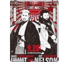 Mark Hunt Vs Roy Nelson Fight Night Japan UFC iPad Case/Skin