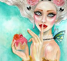marie antoinette cupcake queen by KimTurner