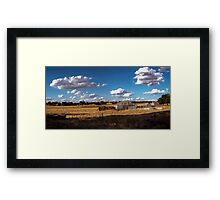 Long Dry Summer Framed Print