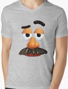 Mr Potato head Mens V-Neck T-Shirt