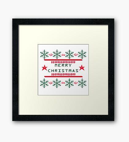 Mario Christmas Framed Print