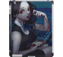 midnight drinks with Ella iPad Case/Skin