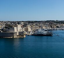 Postcard from Malta - Grand Harbour Superyachts by Georgia Mizuleva