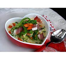 ♥ Love Cooking 4 U ♥ Photographic Print