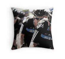 Team Sky Throw Pillow