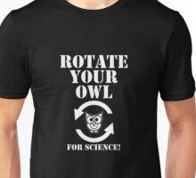 Rotate Your Owl Dark Unisex T-Shirt