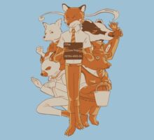 Fantastic Mr Fox by PopcornIllus