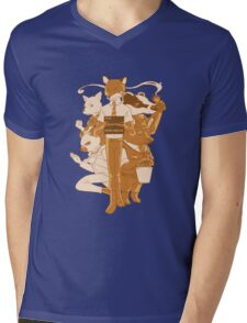 Fantastic Mr Fox Mens V-Neck T-Shirt