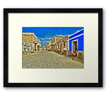 Capoverde-Africa Framed Print