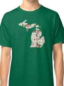 Michigan Flowers Classic T-Shirt