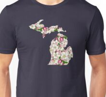 Michigan Flowers Unisex T-Shirt