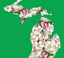 Michigan Flowers by UrsulaRodgers