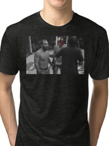 Robbie Lawler is the law Tri-blend T-Shirt
