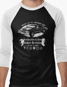 Demon hunters Men's Baseball ¾ T-Shirt