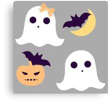 Tiny Spooky Canvas Print