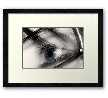 Glass Eye Framed Print