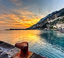 Sunset in Amalfi by PhotosOnTheRoad