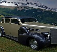 1938 Cadillac Limo Custom Hot Rod by TeeMack