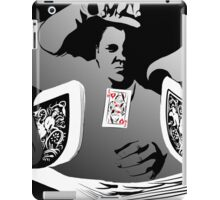 with the slight of hand iPad Case/Skin