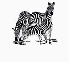 Zebra T-Shirt Womens Fitted T-Shirt