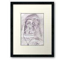 The Nun Framed Print