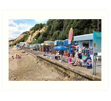 Traditional British sea-side holidays.. Art Print