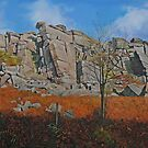 Stanage Edge Derbyshire Dales by Graham Clark