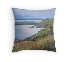 A view from the Isle of Skye Throw Pillow